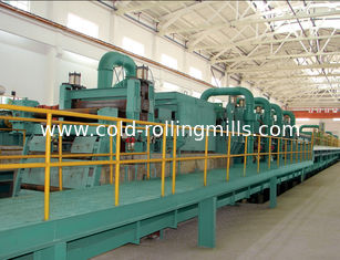 China Semi Continuous Push Pull Pickling Line For Removing Ferric Oxide supplier