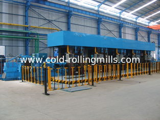 China Electric Tandem Rolling Mill Continuous 700mm 5 Stand Carbon Steel AGC supplier