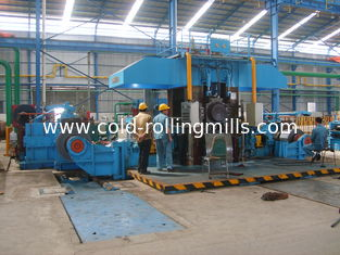 China 750mm Four High Tandem Rolling Mill , 4 Stand Continuous Automatic Rolling Mill supplier