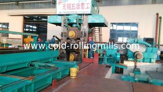 China 8000KN Automatic Temper Rolling Mill 1450mm AGC Screw Down Dry Type supplier