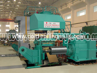 China 1150mm 6 High Cold Rolled Mill Plc Control 1400T Rolling Force supplier