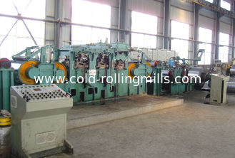 China Dry Type Tension Leveling Line , Carbon Steel Tension Leveler Line 180 m/min supplier