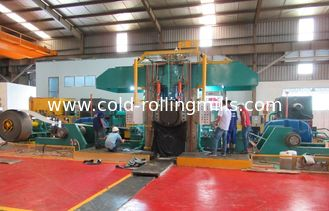 China 800mm stainless steel  AGC hydraulic screw down cold rolling mill supplier