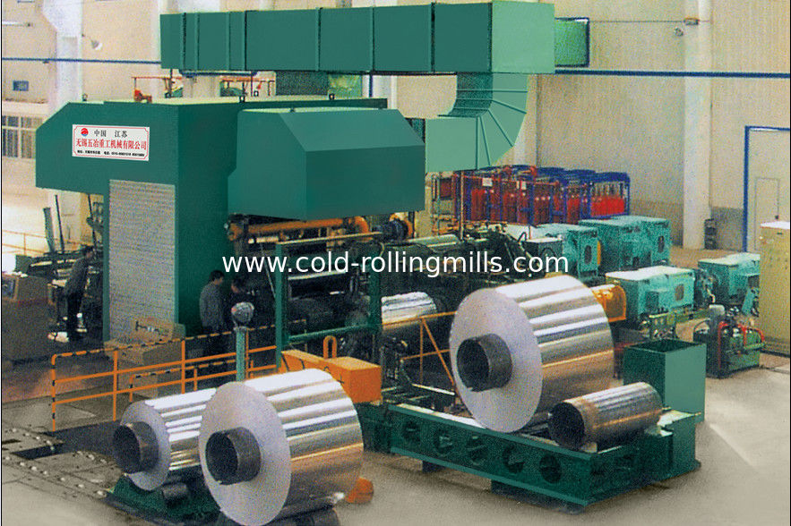 Casting Aluminium Rolling Mill , Cold / Hot Four High
