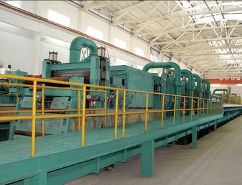 China Semi Continuous Push Pull Pickling Line For Removing Ferric Oxide distributor