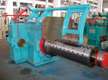 China Hydraulic Tension Reel , Winding Copper Strip Double Heads Coiler Reel distributor