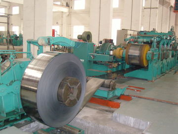 China 1450mm Tension Leveling Line Carbon Steel Strip With Two Rollers Transmission distributor