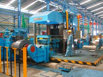 China 650mm Four High Cold Rolling Mill Equipment , 150m/min Aluminum Roll Mill Machine factory
