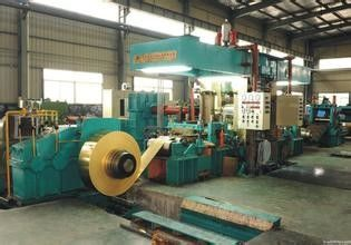 China Stainless Steel Cold Rolling Mill 8 Hi 850mm Light Weight 7000KN Rolling Force factory