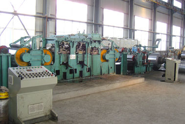 China Dry Type Tension Leveling Line , Carbon Steel Tension Leveler Line 180 m/min distributor