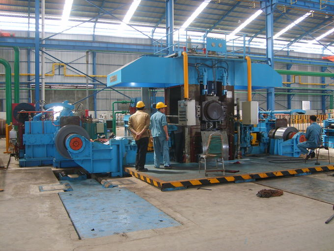 750mm Four High Tandem Rolling Mill , 4 Stand Continuous Automatic Rolling Mill
